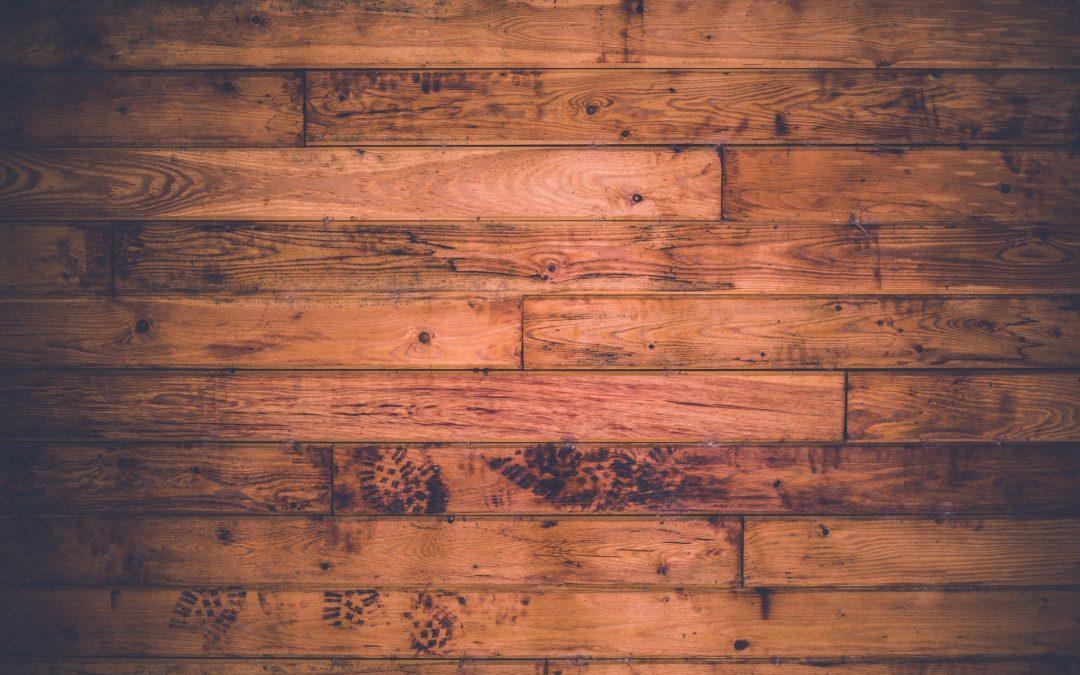 Afhøvling af gamle trægulve
